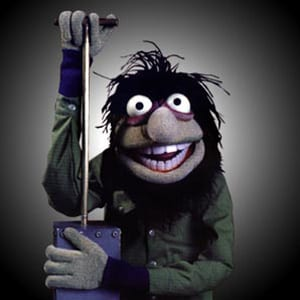 Crazy Harry from The Muppets Movie