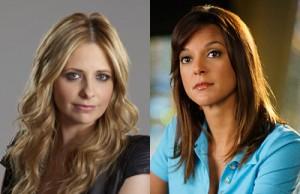 (L) Jordan Nuttall/The CW; (R) Cliff Lipson/CBS