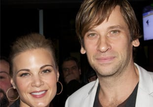 Gina Tognoni and Roger Howarth