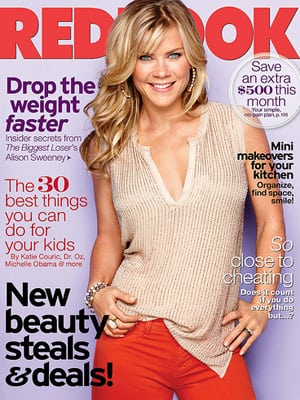 Alison Sweeney on the Cover of Redbook Magazine