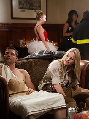 Julie Marie Berman and Justin Bruening Star in Lifetime's 'The March Sisters at Christmas'
