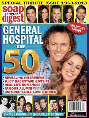 Soap Opera Digest - August 28, 2007 - General Hospital, Katherine Kelly Lang