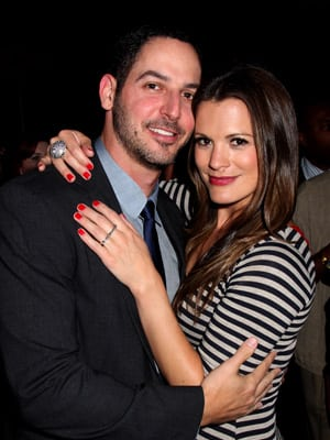 Melissa Claire Egan and husband
