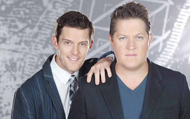 CENTER STAGE: 'GH's' Drew and Derk Cheetwood Are Mobs of Fun