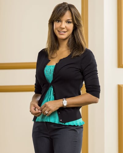 The gorgeous American actress and model Eva LaRue