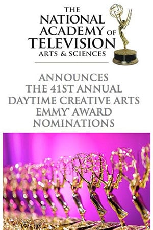 DAYTIME EMMYS: Creative Arts Awards Presenters Announced