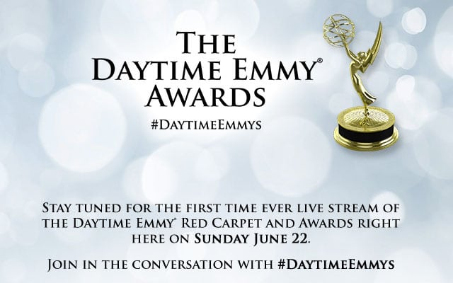 DAYTIME EMMYS: Streaming Website Now User Friendly; NATAS Confirms Red Carpet Presentation