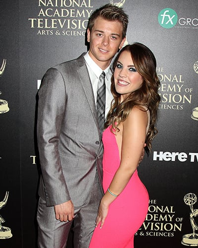 DAYTIME EMMY AWARDS RED CARPET: 'GH's' Chad Duell in Walter Mendez