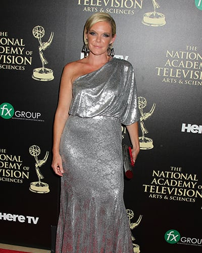 DAYTIME EMMY AWARDS RED CARPET: Maura West in 'GH' Dress