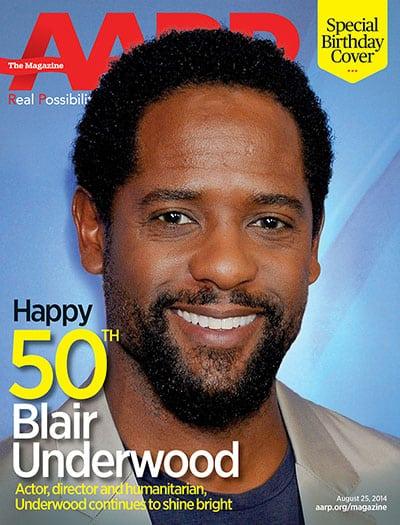 AARP Celebrates Blair Underwood's 50th Birthday!