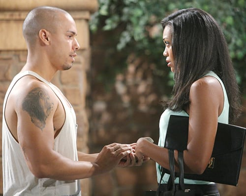 Bryton James, Mishael Morgan, The Young and the Restless