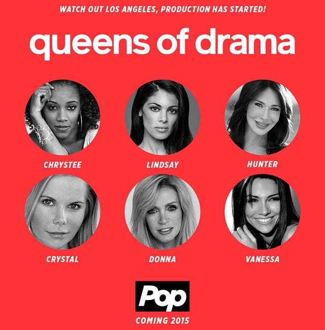NOW IN PRODUCTION: 'Queens of Drama' Starring Hunter Tylo, Vanessa Marcil, Donna Mills and More!