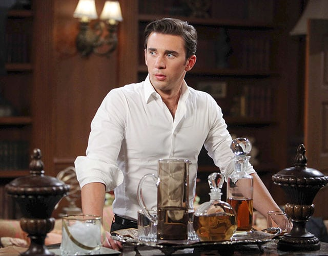 'DAYS'' Billy Flynn: Chad Double Crosses Kate, Says Adios to Jordan and Tries To Manipulate Abigail Back Into His Life!