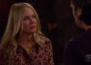 WATCH: 'Last Week Tonight's' Salmon Cannon Attack on 'Y&R's' Sharon Newman During Dramatic Scene