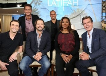 UPDATED! FIRST LOOK: The Men of 'Y&R' Chat With Talk Show Host Queen Latifah