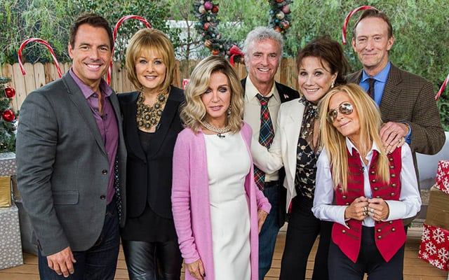 First Look Photos Cast Of Knots Landing Reunite On Home Family