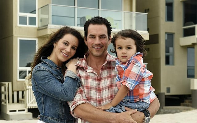 Tyler Christopher and wife