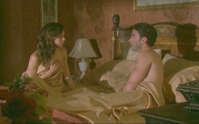 Kate Mansi and Billy Flynn