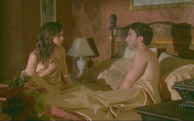 Kate Mansi and Billy Flynn