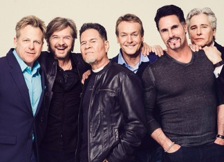 Kin Shriner, Stephen NIchols, A Martinez, Doug Davidson, Don Diamont, Michael E. Knight