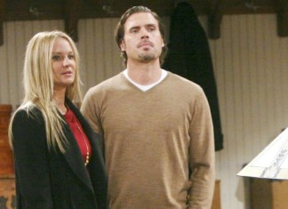 Sharon Case Joshua Morrow