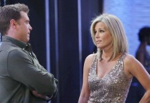 Billy Miller and Laura Wright