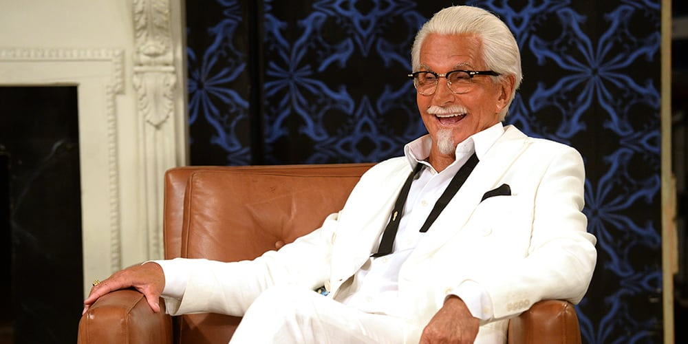 Colonel Sanders On Set: