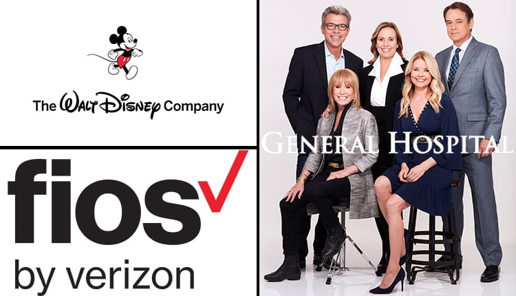 General Hospital, GH, Verizon FiOS, The Walt Disney Company