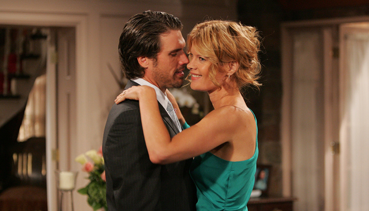 Joshua Morrow, Michelle Stafford, The Young and the Restless